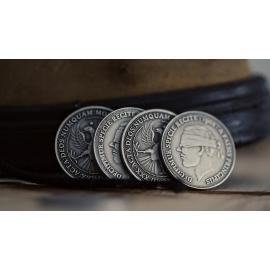 Монета 1902 Antique Silver Finish