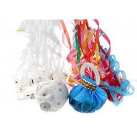 Бумажные растяжки в конусе (белые и цветные)