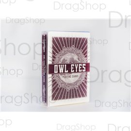 Owl Eyes Red