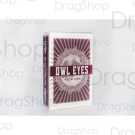 Owl Eyes Red