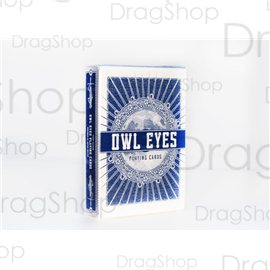 Owl Eyes Blue