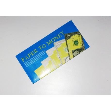 Бумага в деньги