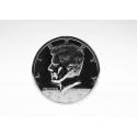 Монета большая Half Dollar Silver