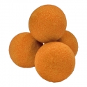 "2"" Regular Sponge Balls by Gosh (Orange)"