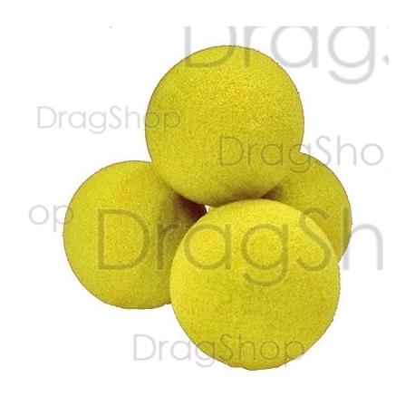"2"" Regular Sponge Balls by Gosh (Red)"