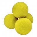 "2"" Regular Sponge Balls by Gosh (Yellow)"