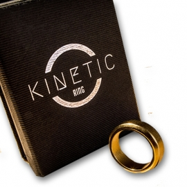 Kinetic PK Ring (Gold) by Jim Trainer
