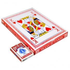 Большие игральные карты 28*20.8 см