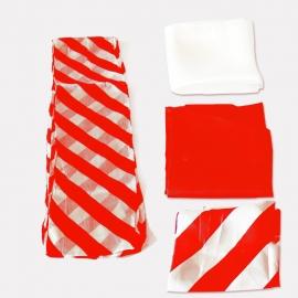 Набор для превращения платков в полосатый шарф