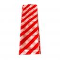 Шарф 16,5*250 см (Красно-белый)