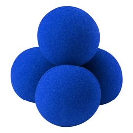 "2"" High Density Ultra Soft Sponge Balls by Gosh (Blue)"