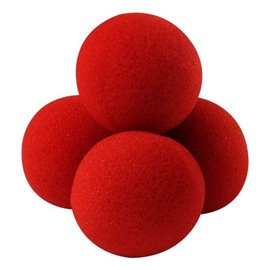 "2"" High Density Ultra Soft Sponge Balls by Gosh (Red)"