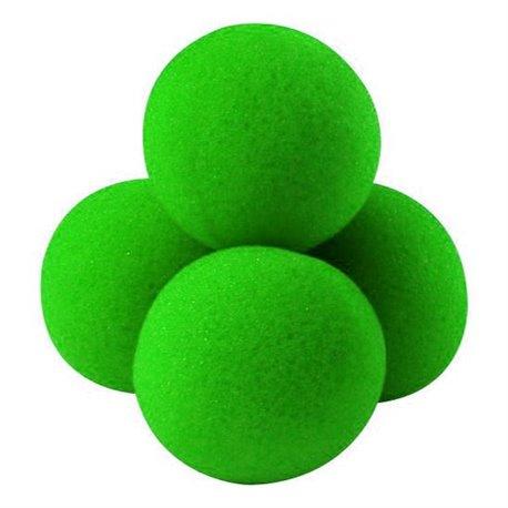 "1.5"" High Density Ultra Soft Sponge Balls by Gosh (Green)"