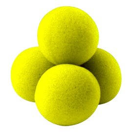 "1.5"" High Density Ultra Soft Sponge Balls by Gosh (Yellow)"
