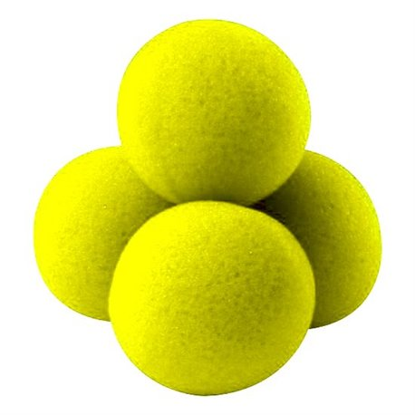 "2"" High Density Ultra Soft Sponge Balls by Gosh (Yellow)"