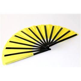 Бамбуковый веер (желтый)