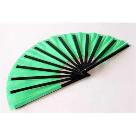 Бамбуковый веер (зеленый)