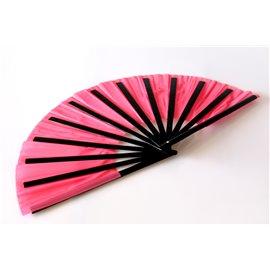Бамбуковый веер (розовый)