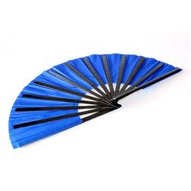 Бамбуковый веер (синий)