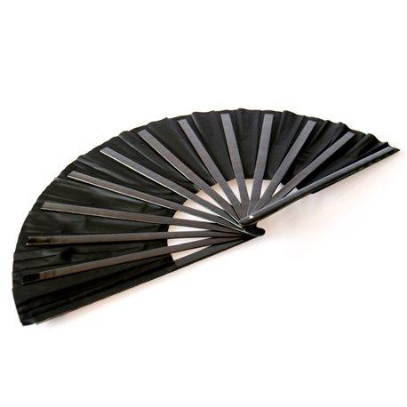 Бамбуковый веер (черный)