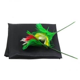 Цветы из платка