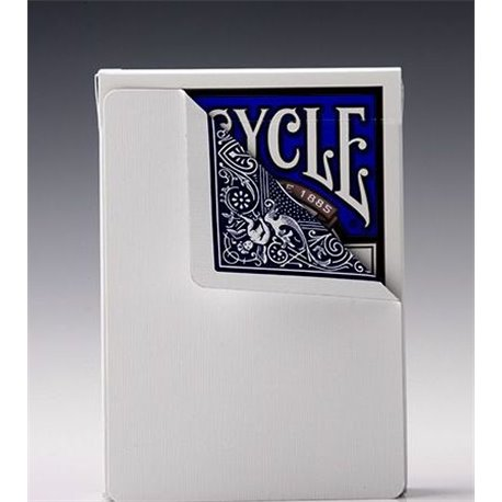 Трюковая колода Bicycle Blank Face Blue
