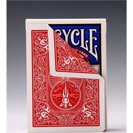 Трюковая колода Bicycle Double Back Red/Red