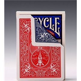 Трюковая колода Bicycle Double Back Red/Blue
