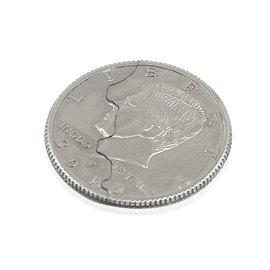 Откусывающаяся монета, 2 части (Bite Coin 2-fold)