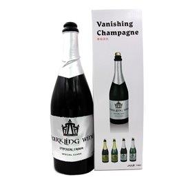 Исчезающая бутылка шампанского (черная)