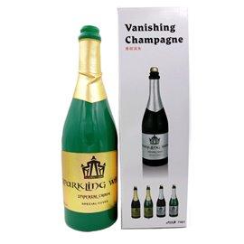 Исчезающая бутылка шампанского (зеленая)