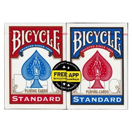 Bicycle Standard Red&Blue