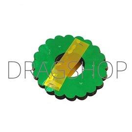 Цветочная гирлянда из фольги разноцветная (Flower Garland PVC Color)