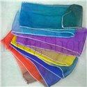 Радужный шелковый шарф 1,8 м*6 см
