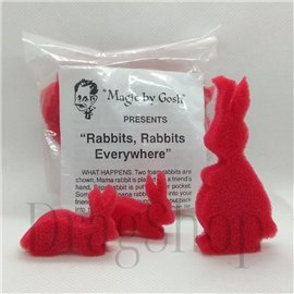 Rabbits, Rabbits Everywhere by Gosh
