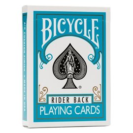 Bicycle Rider Back Turquoise