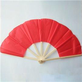 Бамбуковый сломанный веер (красный) Broken fan bamboo