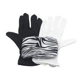 Перчатки в ленту (Gloves to Zebra streamer)