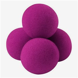 "1.5"" High Density Ultra Soft Sponge Balls by Gosh (Pink)"