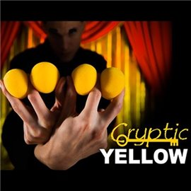 2 Inch Sponge Balls by Magic Makers (Cryptic Yellow)