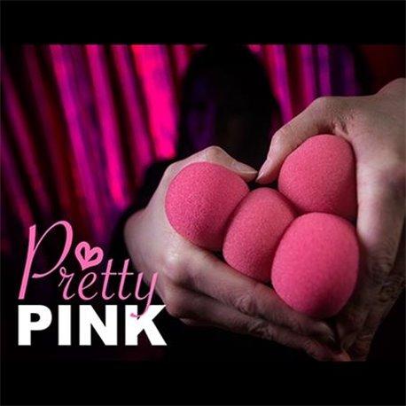 2 Inch Sponge Balls by Magic Makers (Pretty Pink)