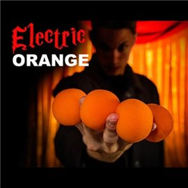 2 Inch Sponge Balls by Magic Makers (Vibrant Orange)
