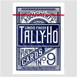 Thin Crushed Tally-Ho Fan Back Blue