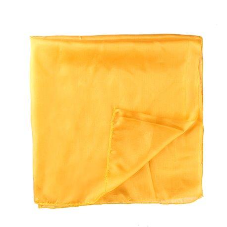 Платок 30*30 светло-желтый